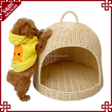 Wholesale Chinese factory handwoven dog bed pet luxury for dog