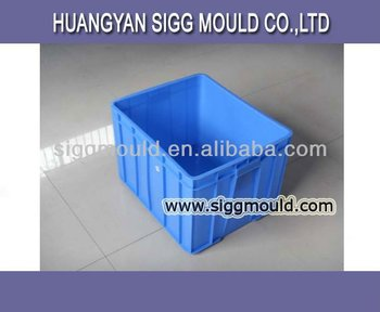 Cost price and high quality plastic injection crate mould&moulding&mold