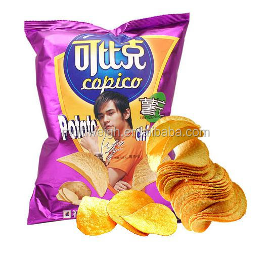 potato chip bagging machine