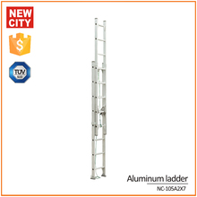 aluminum/fiberglass telescopic 2 sections ladder