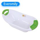 family large plastic bath tub baby safe bathroom with PET material