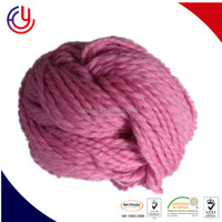 Acrylic yarn prices for knitting carpets in 50g skeins tops-dye hb acrylic yarn for hand knitting