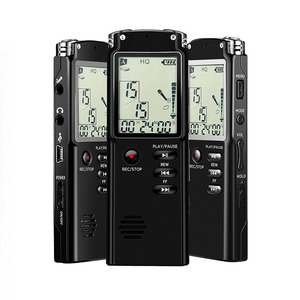 8GB Time Display activated Recording MP3 player Digital Voice/Audio Recorder