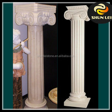 High quality Western Style hand craved statue marble columns pillars