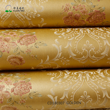 Home deco 3D Floral Wallpaper European style Wallpaper China Wallpaper