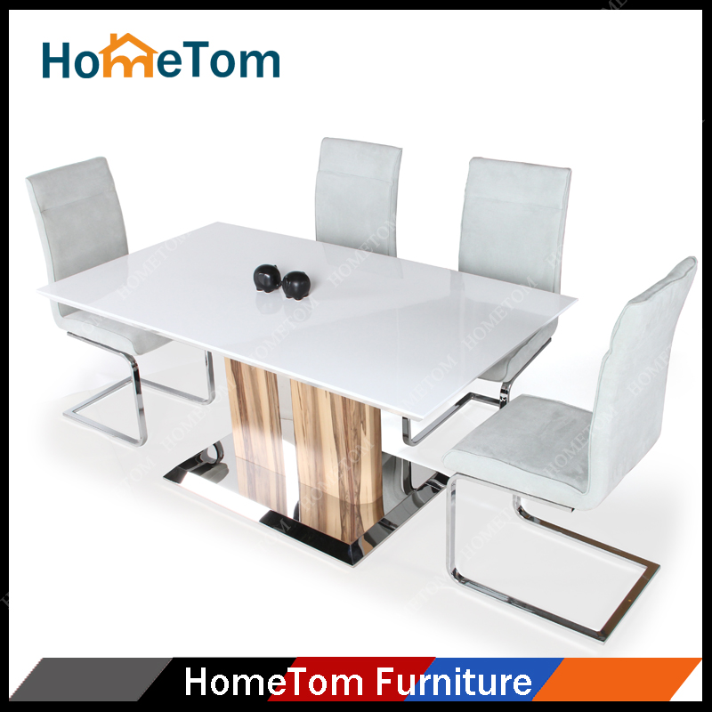 High quality modern wooden dining table and chairs for for Quality wood dining tables