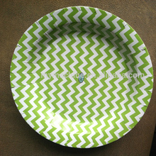 High quality disposable paper plate sizes,paper plate raw material