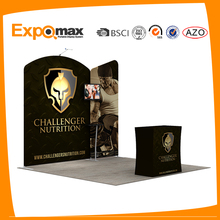 portable 10x10 advertising fabric display trade show exhibit booth