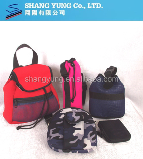 neoprene tablet covers and laptop bags neoprene cooler drink cooler with polyester fashion colorful neoprene lunch bag