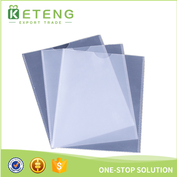 Popular product A4 hardcover clear stick folder