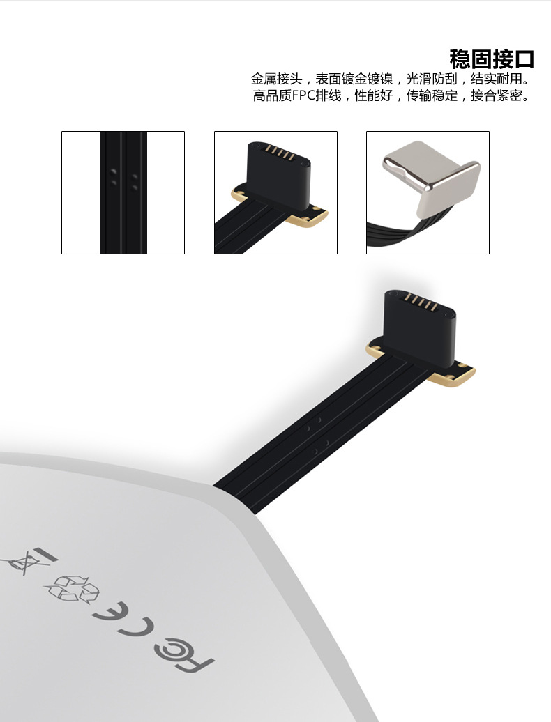 Baseus High Quality Original QI Wireless Charger Receiver for Iphone and Android all model