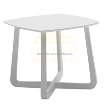 Fashional white wooden side table/coffe table/ end table for living room set