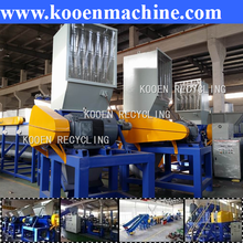 low price dirty plastic recycling machine