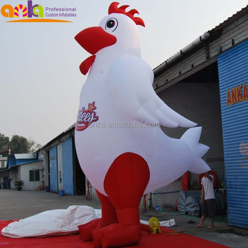 Customized advertising inflatable chicken / inflatable rooster