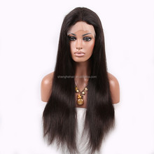 peruvian full lace wig with baby hair all 100% human hair