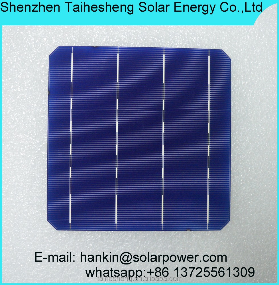 A grade high efficiency mono 6inch solar cell with lowest price