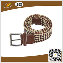 High Quality Brown Wax Rope Leather Belt