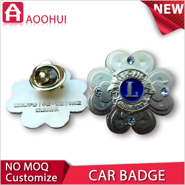 Good quality brass MOQ 10 replacement car emblem