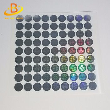 High quality custom anti-counterfeit sticker label, hologram sticker maker