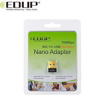 EDUP Mini Portable USB WiFi Adapter MTK7601 Chipset Wireless Dongle For Laptop &Desktop