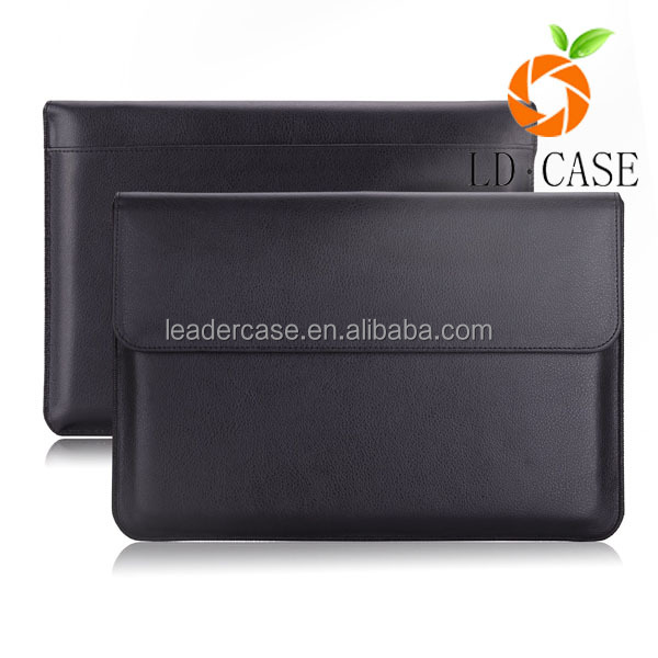 Luxury Genuine Leather Case for MacBook air 13 inch/ipad air 2 Laptop Sleeve Factory