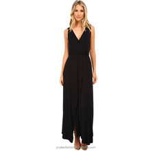 Elegant Ladies Evening Dress custom cotton maxi dress