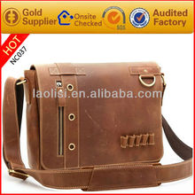 Wholesale price designer leather sling bag men's shoulder bags for ipad mini