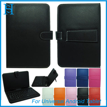 "Leather Case Universal USB Keyboard for 10"" 9.7"" 9"" 8"" 7"" Android Tablet"
