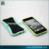 glow at night tpu&pc bumper case for iphone 5S
