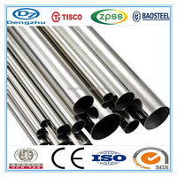 TISCO 42mm diameter 201 stainless steel decorative pipe