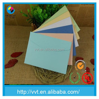 Handmade iridescent paper envelope packaging letter