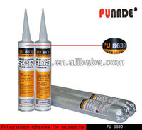 PU8630 High property auto/ car /automotive/automobile glass adhesive,Polyurethane windscreen sealant rubber for auto glass