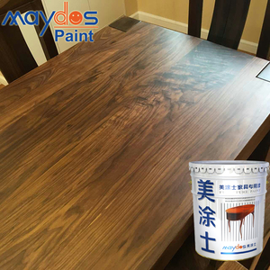 Matt Finish Yellow Resistance Transparent Nitrocellulose Wood Paint