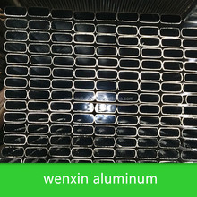 square aluminum tube/square aluminum pipe manufacture/hot sell aluminum square tube