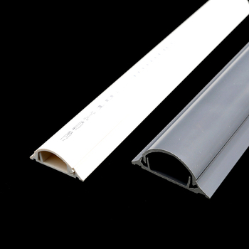 Flame retardant Wholesale pvc electrical trunking channel duct 35x10 floor cable casing
