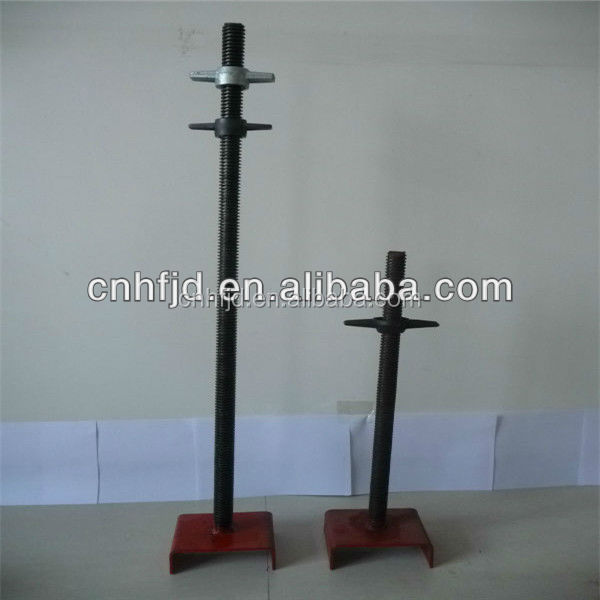 Hot Sale Electric Scaffolding Screw Jack, Steel Scaffolding Components, Small Screw Jack