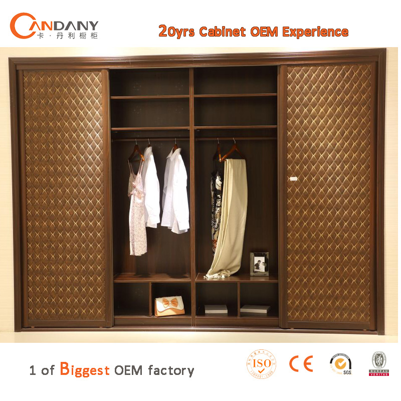 Inside wooden almirah designs wardrobe New model bedroom furniture