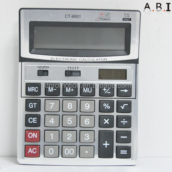 12 digit dual power calculator