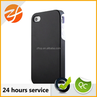 Detachable 2-in-1 Silicon +PC Hybrid Protective Case For Iphone 4/4s,for iphone 4 back cover case