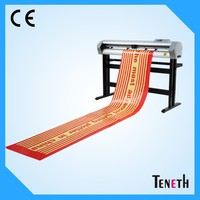 Super grade TENETH 1350mm cutting plotter with Flexi software free