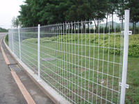 2016 hot sale cheap iron fence for garden, Factory Price Wire,Construction industry residential building cheap temporary fencing