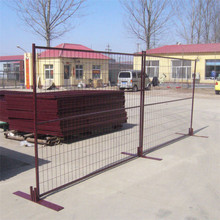powder coated canada temporary square fence panel
