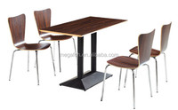 Industrial style restaurant dining tables and chairs sets(FOH-BC19)