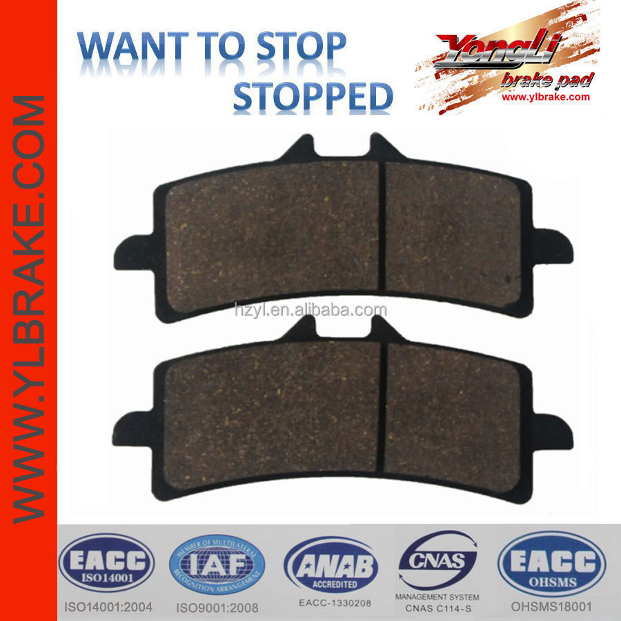 motorcycles part for BMW S 1000 RR,performance brake pad motorcycle racing parts,cooper base/sinter/ceramic quality brake pad