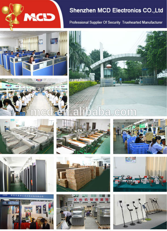 baggage and parcel inspection systems Security Equipment For Prisons
