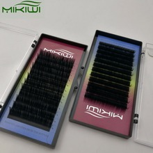 Private Label Custom Eyelash Packaging Faux Mink Eyelash Extension 0.07mm Thick Individual Lash Extensions