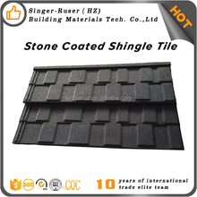 CE/ISO9001 Quality Corrugated natural stone chips coated metal roof guangzhou price
