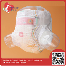 2016 grade A comfortable economic europe absorption disposable baby diaper