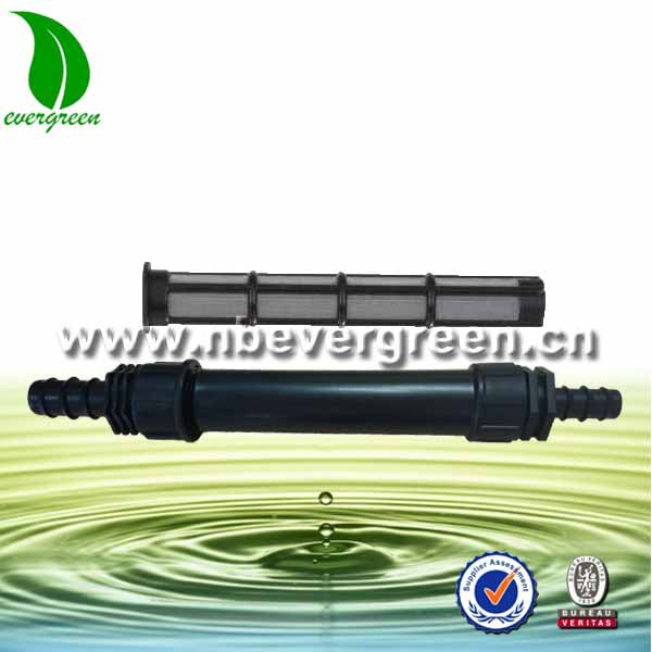 drip tape micro inline screen filter filter with barbed adaptor