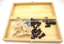 wood chess board for wholesale